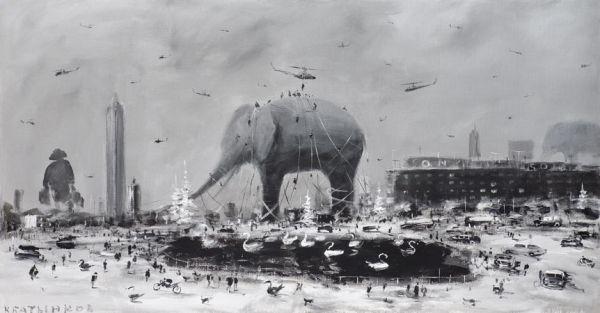 Abstract Apocalypse: The Paintings of Konstantin Batynkov