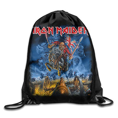 Drawstring Backpack Bag Manowar Kings Of Metal Soenda Nylon Home Travel Sport Storage * Find out more about the great product at the image link.