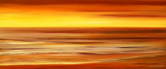 Panoramic View Sunsets - sunsets oil paintings, original paintings of panoramic sunsets, colorful panoramic sunsets, sunsets, sunset art, sunset artworks, sunset paintings in panoramic views, wise size paintings, wide size, horizontal, horizontal art, wall art, sunset wall art, purple panoramic sunsets, tropical panoramic sunsets, big size paintings, paintings on sale, art for sale, panoramic vew prints, panoramic sunsets posters, by gina de gorna
