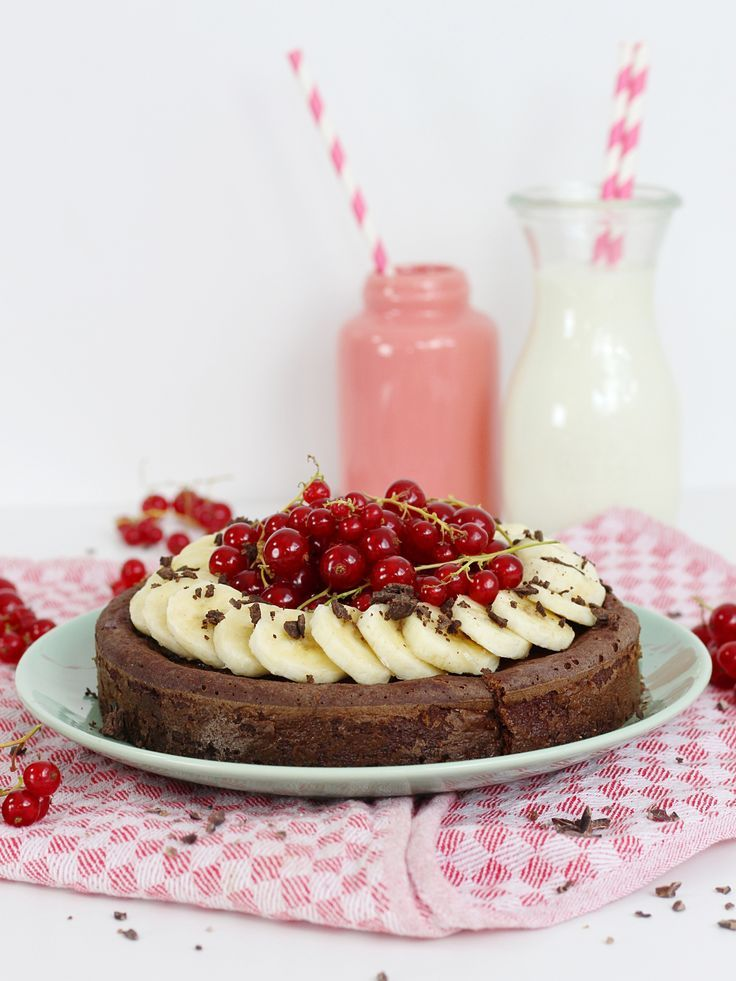 ᐅ Gesunder – kalorienarmer Brownie Kuchen I Rezepte von Christina
