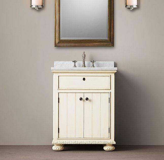 Photo Image French Empire Double Vanity Sink
