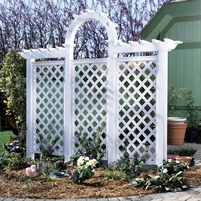17 best images about garden dreams on pinterest gardens for Wall trellis ideas