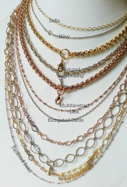 South Hill Designs Chains. So pretty in many different colours and sizes!