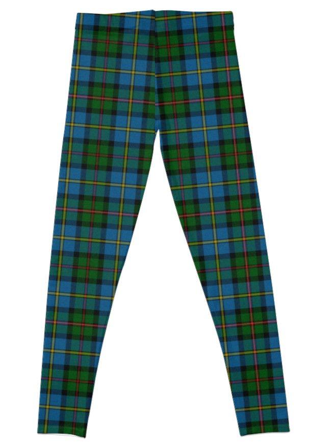 Highlander tartan leggings