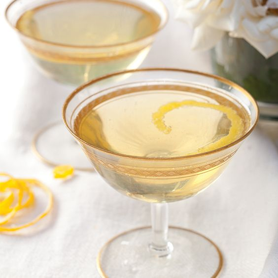 The Champagne cocktail is one of our favorite refined drinks, and here we whipped up a new version with herbal Chartreuse liqueur, a spicy cinnamon syrup, and bit of apple juice sweetness to round it out. The Champagne Chartreuse Cocktail is one of our new standards.