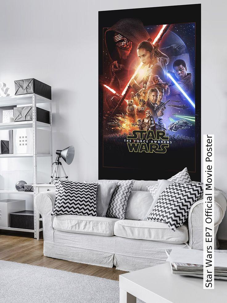 Tapete: Star Wars EP7 Official Movie Poster - Die TapetenAgentur