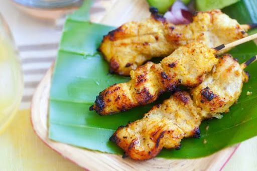 Chicken Satay Recipe on Yummly
