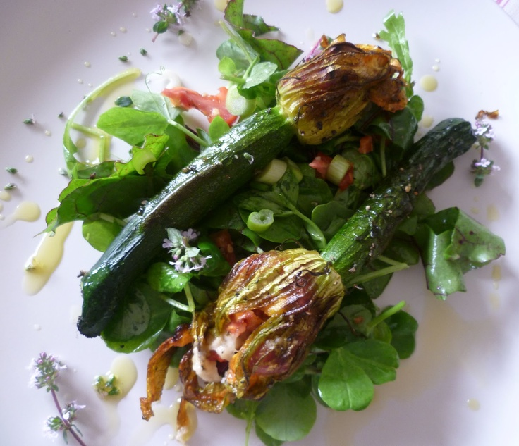 Stuffed courgette/zuccini flowers   Adventures in fussy eating