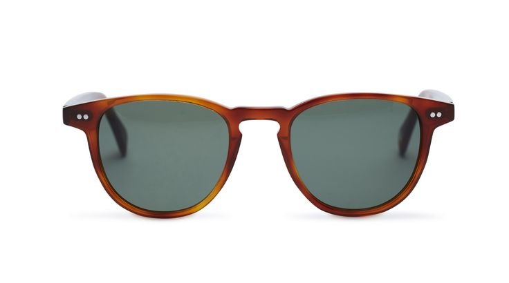 Campbell - Whiskey Havana / Green Lens from Pacifico Optical