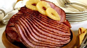 Coca Cola Ham ½ ham (5-6 pounds) 1 cup brown sugar 1 ½ cups Coca-Cola® 1 cup crushed pineapple (optional)