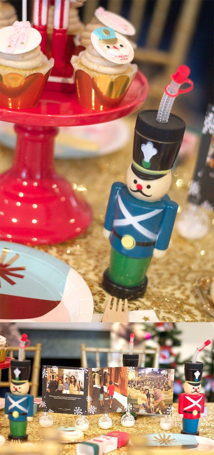 Nutcracker Ballet Inspired Holiday Party