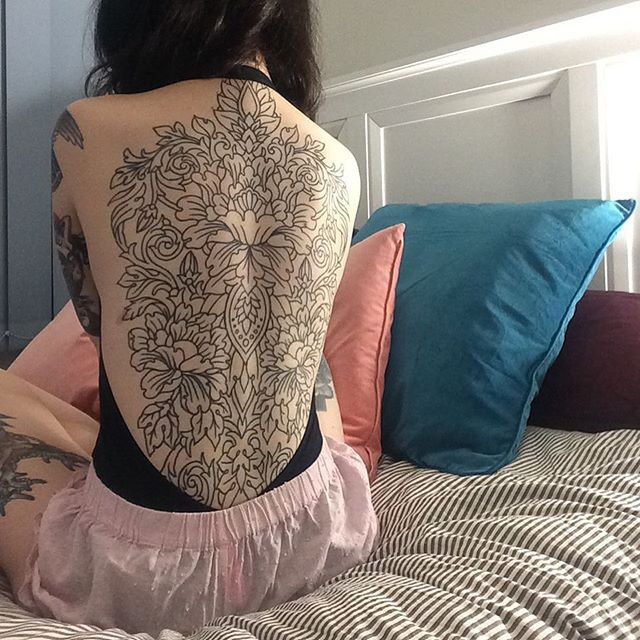 Love this back piece