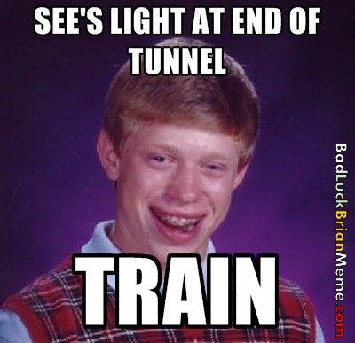 Wahahaha. I feel sorry for you Brian :(