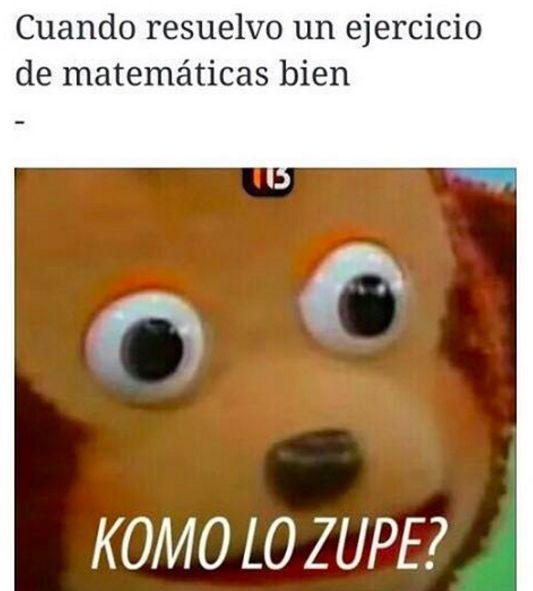 """Esto vas más allá de """"komo lo zupo""""."""