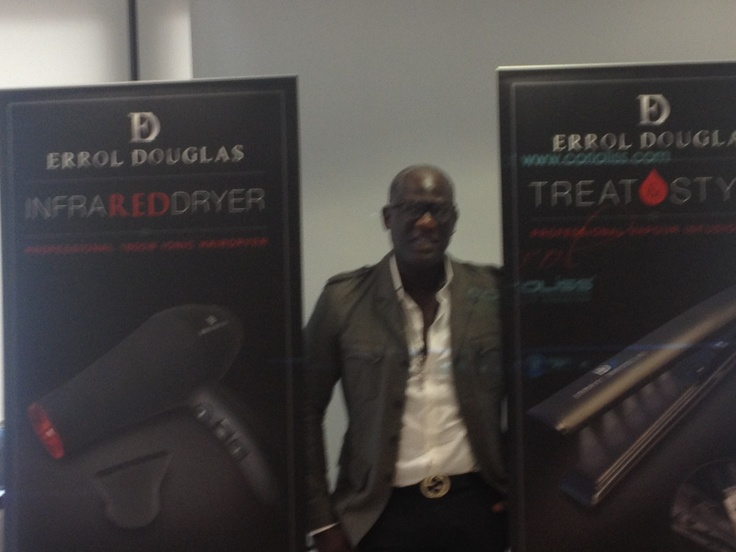 Errol Douglas MBE launches electrical tool range and first keratin capsule system styler on the high st