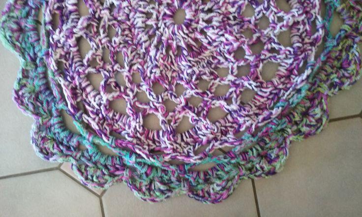 Crochet Floor Rug