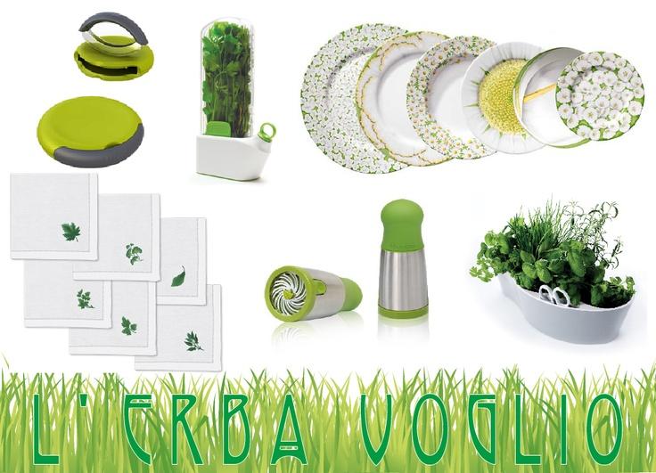 Art de la table: l'erba voglio