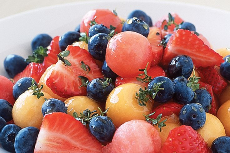Melon And Berry Salad Recipe - Taste.com.au