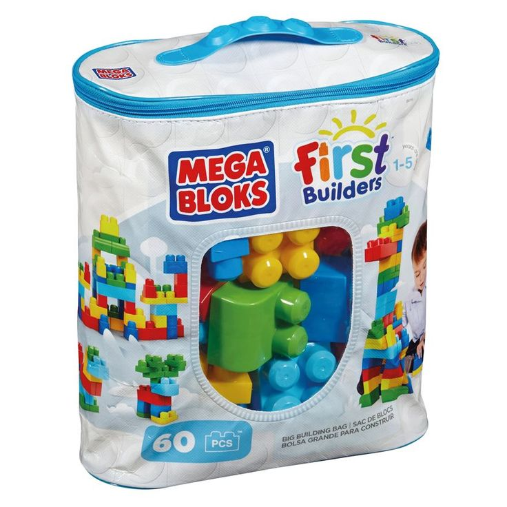 Mega Bloks First Builders Big Building Bag Classic - Pre-School & Electronic Learning UK