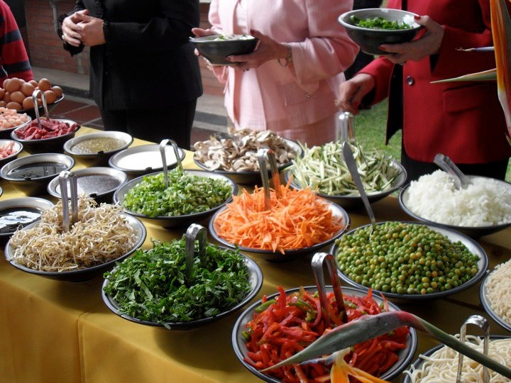 Thinking i may do a salad bar at my next bunco food bars for Food bar 8 0