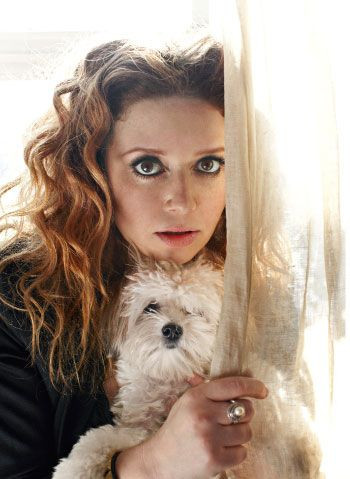 Natasha Lyonne  She could be a Starfleet Officer and/or a Bohemian style alien