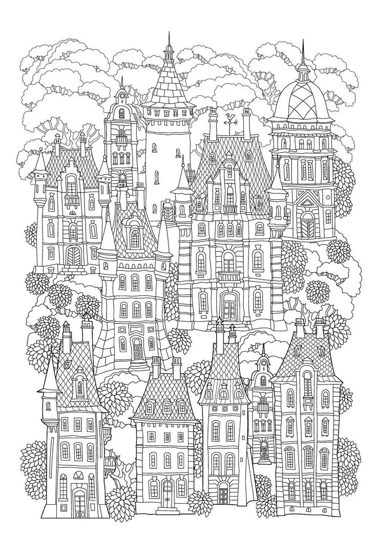 385 besten COLORING BOOK / COLOURING PAGES Bilder auf Pinterest ...