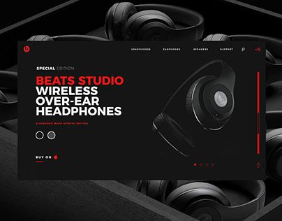 """Check out new work on my @Behance portfolio: """"Beats By Dr. Dre Redesign"""" http://be.net/gallery/47749659/Beats-By-Dr-Dre-Redesign"""