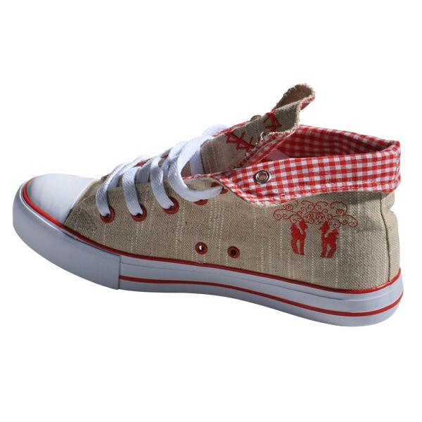 trachten sneaker damen   Sneaker im Chucks Look - Schuhe Accessoires Damen - Mia San Tracht