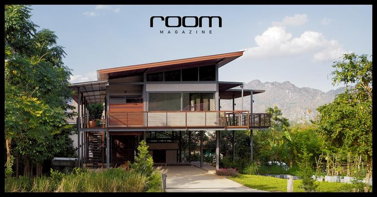 """""""บ้านภูภัทรา"""" บนทำเลทองของเขาใหญ่ ผลงานออกแบบของ Spacetime Architects บริษัทสถาปนิกที่มีลายเส้นเฉพาะตัว โดยมีคำจำกัดความของบ้านว่า """" Modern Tropical House """""""