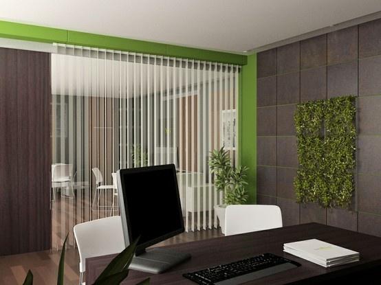 24 best images about oficina on pinterest empty wine for Oficinas decoradas con plantas