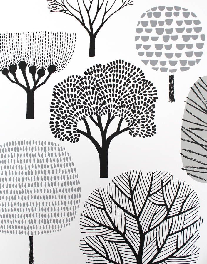 Trees Screen Print by Eloise Renouf                                                                                                                                                                                 More