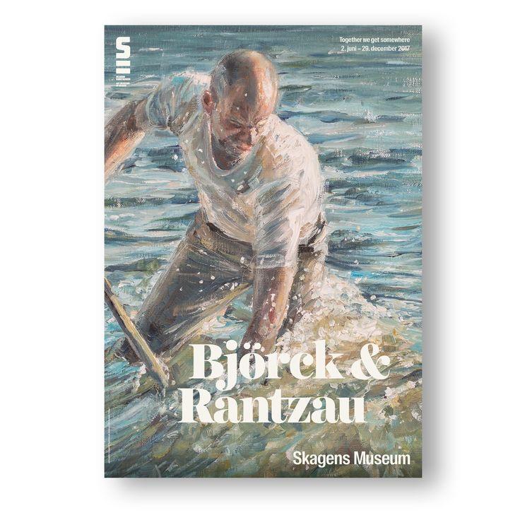"Exhibition poster. Björck & Rantzau ""Together we get somewhere"" 2. June - 29. Dec. 2017."