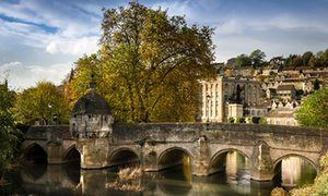 Best small UK towns for winter Christmas breaks - Bradford on Avon, the town bridge over the river Avon in the quaint Wiltshire town