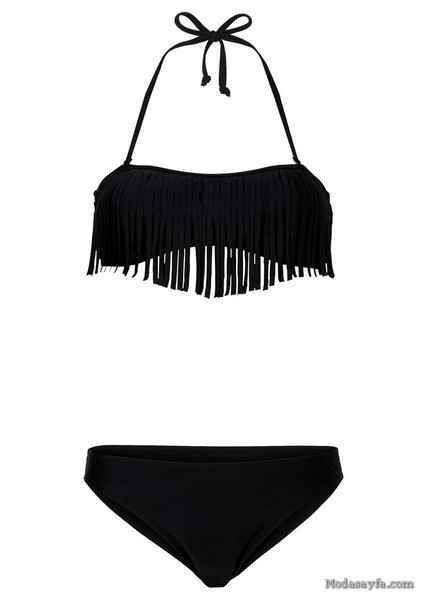 awesome Lovebox Özel Tasarım Siyah Bikini