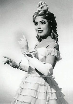 Mattiwilda Dobbs (b. 1925) is an American opera singer, one of the first African Americans to achieve international acclaim in the art form. After winning an international competition in Geneva, Switzerland, the Spelman graduate launched a career that took her across Europe. In 1953, she became the first African American women to sing at the famed La Scala opera house in Milan, Italy.: