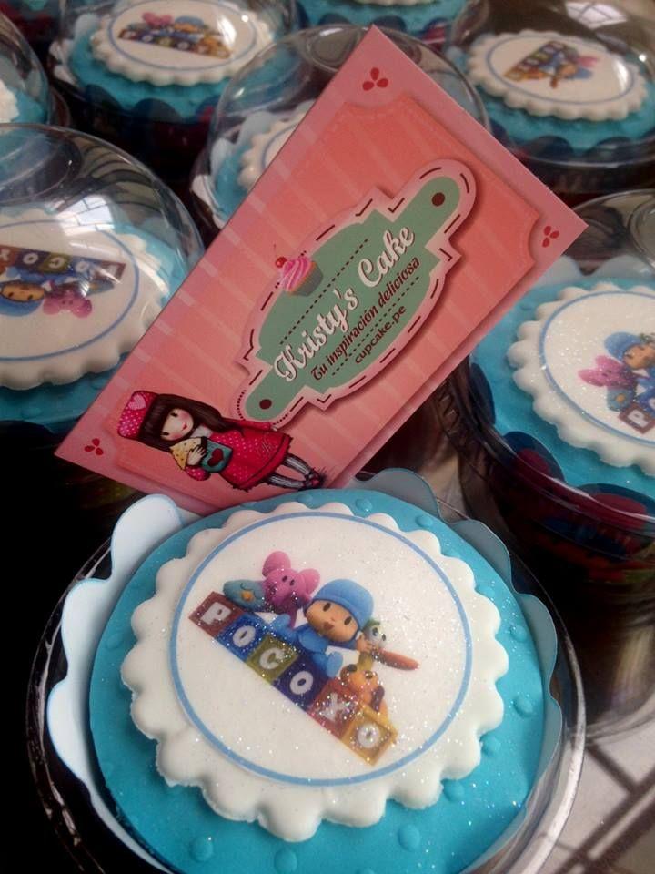 #cupcakes #lima #peru #pocoyo