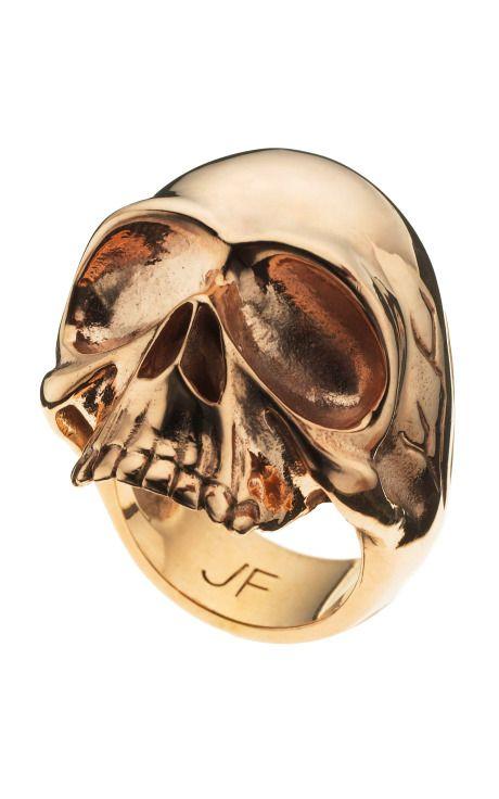 #Gold #Skull #Ring