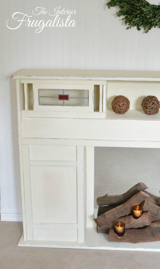 Melhores Ideias De Faux Fireplace Insert No Pinterest