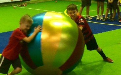 Giant Ball Games Kit ... another great idea from fundayout.com.au 80 activities for OOSH children!