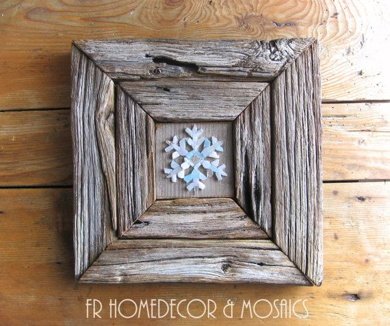 Cristallo di neve by MosaicGREENshop on Etsy