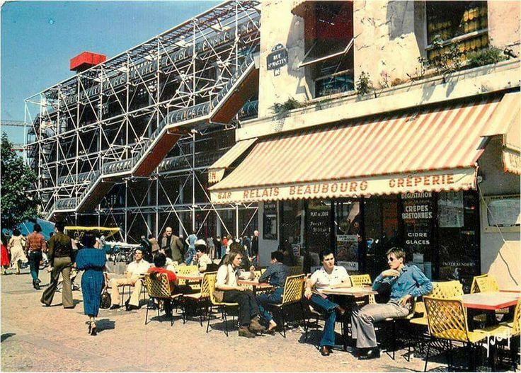 Centre pompidou 1977