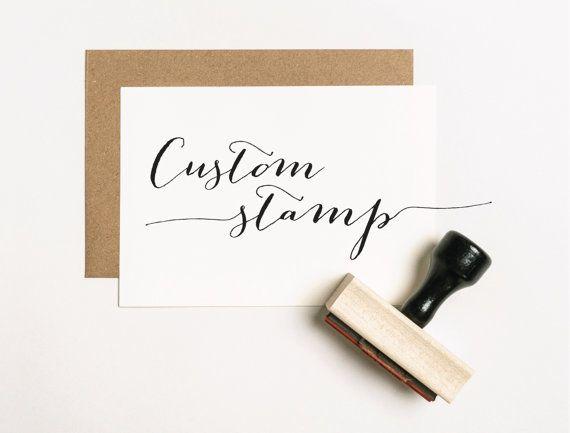 CUSTOM Rubber Stamp, Custom Stamp, Logo Stamp, Personalized Rubber Stamp, Stamp Logo, Company Stamp, Business Stamp, Business Card Stamp