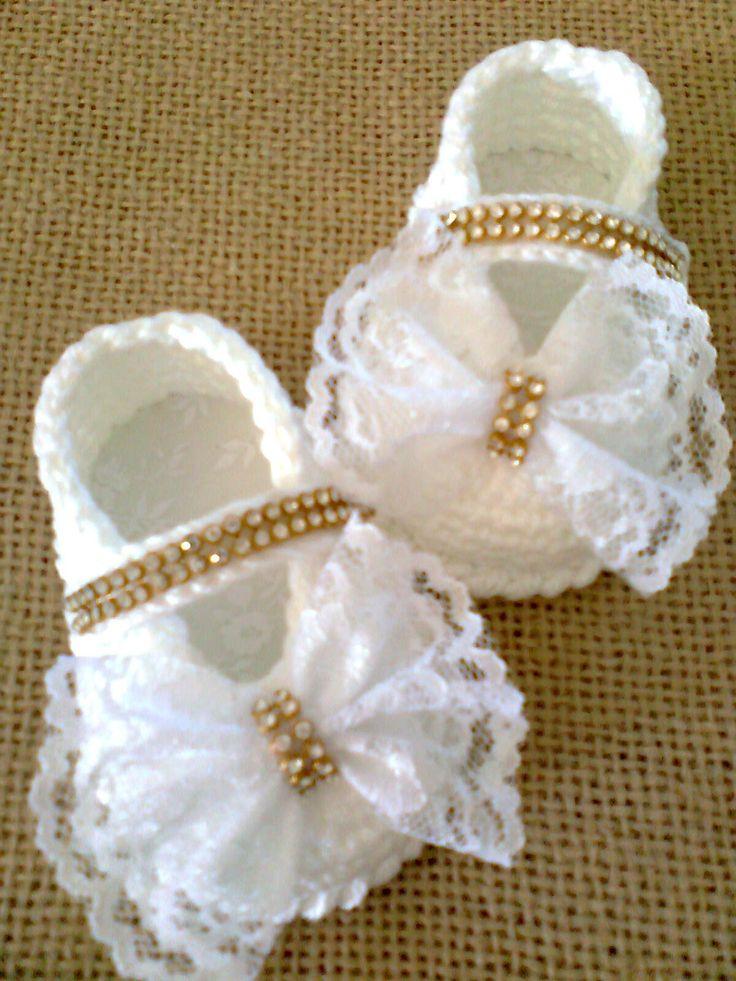 Mejores 121 imágenes de zapatitos para bebe en Pinterest | Bebé de ...