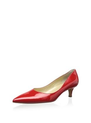 51% OFF Peter Kaiser Women's Classic Low Heel Pump (Red)