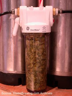 How to build a hop filter. Homebrew, craft beer, brew beer at home. Better Living Through Beer http://www.pinterest.com/wineinajug/better-living-through-beer/