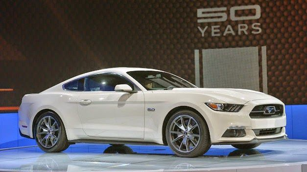 Ford Mustang GT 2015 - a special edition on the 50th anniversary of the legendary model