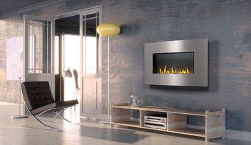 Contemporary Gas Fireplaces - Contemporary - Media Room - Denver - Fireplace Warehouse ETC
