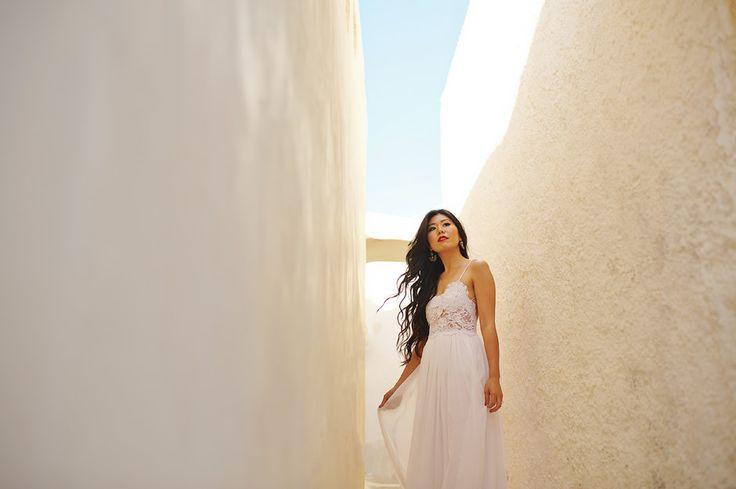 Santorini engagement | Greece Mykonos Santorini Athens Wedding Photographer