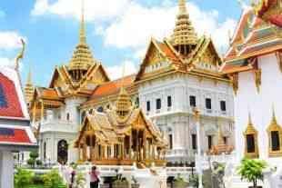 Temppeleitä Thaimaassa