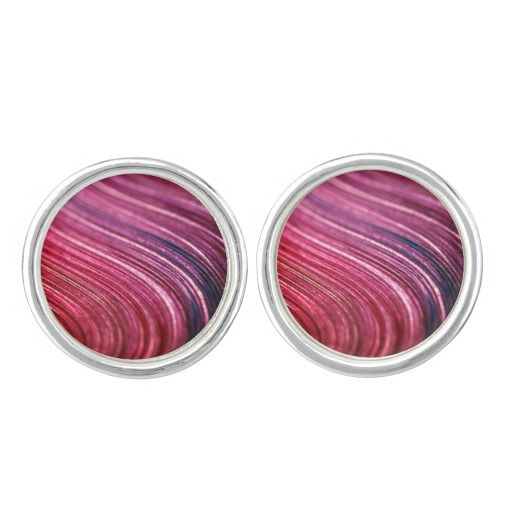 Original designers Ladies cufflinks : Sangria